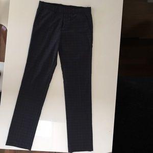 Men's Theory gunmetal dress pants size 30 x 34